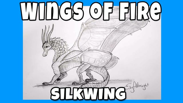 How to Draw SILKWING - Wings of Fire Dragon