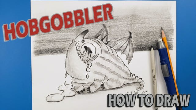 """Draw """"HOBGOBBLER"""" Drool How To Train Your Dragon"""
