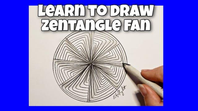 Zentangle Fan