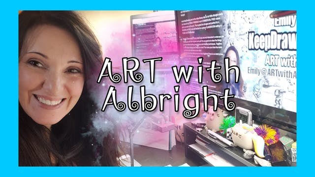 ART with Albright online classroom
