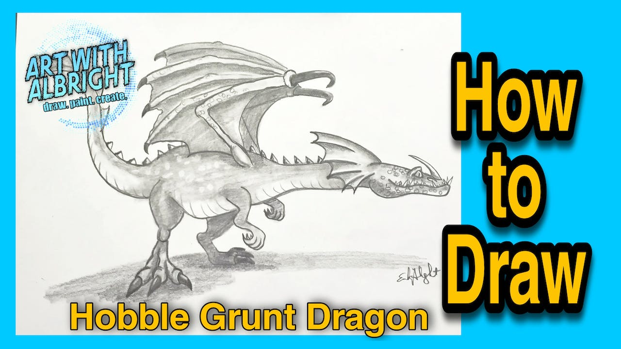 How to Train Your Dragon ~ Hobble Grunt Dragon
