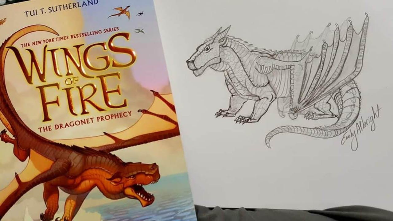Wings of Fire ~ Dragon Clay