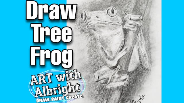 Learn How to DRAW a Tree Frog