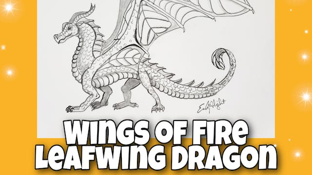 Leafwing Dragon from Wings Of Fire