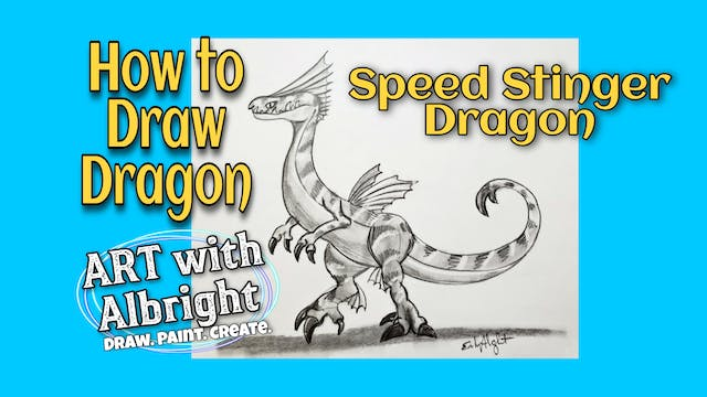 Learn How to Draw Speed Stinger Dragon