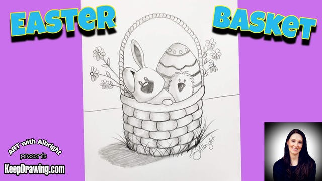 Easter Basket - Bunny & Chick