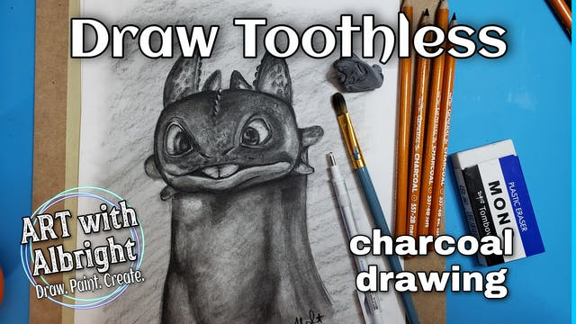 """""""TOOTHLESS"""" - How To Train Your Dragon - Draw"""