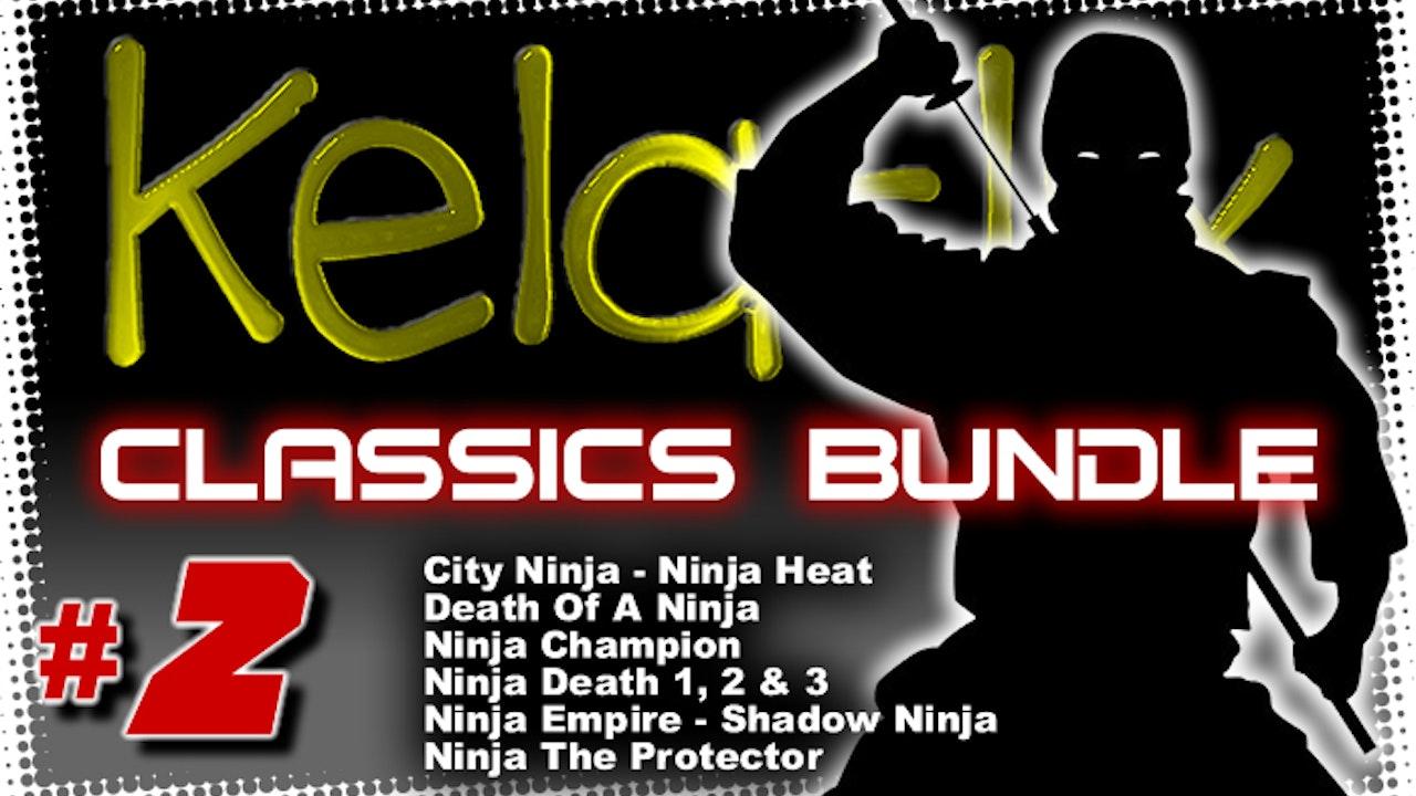 Kelaflix Classics Bundle #2 - 10 Ninja Flix!!