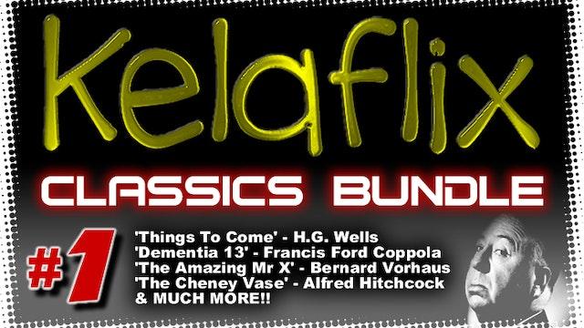 Kelaflix Classics Bundle #1 - 7 Classic Authors/Directors/Actors