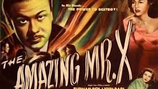 The Amazing Mr X