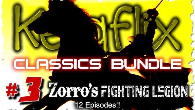 Kelaflix Classics Bundle #3 - Zorros-Fighting-Legion