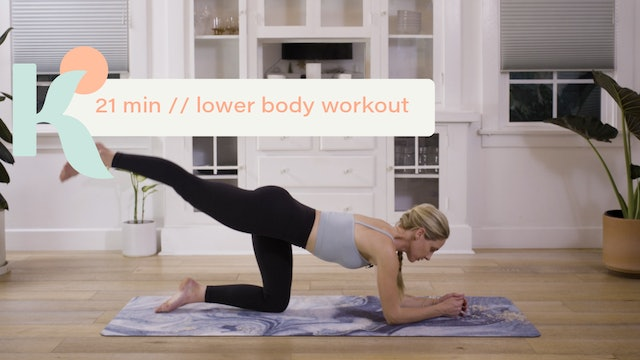 21 Minute Lower Body Workout