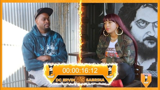 Who Smiled First Tournament! Sabrina Sith Vs D.C. Ervin (Guest Host Jackie Fabulous)
