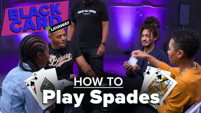 Black People Learn How To Play Spades