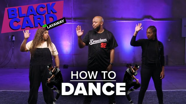 Black People Learn How To Dance
