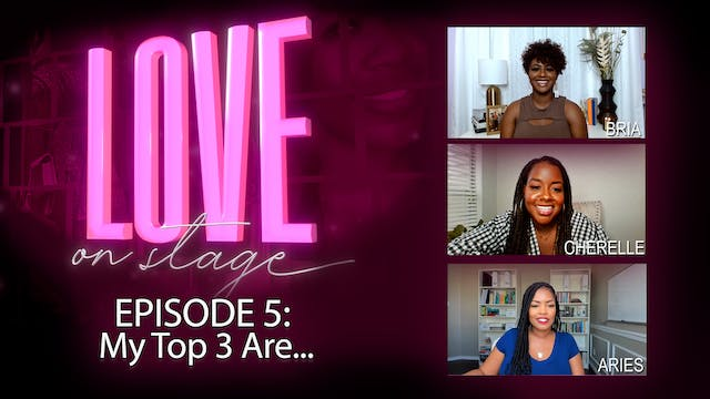 Ep 5: My top 3 Are...
