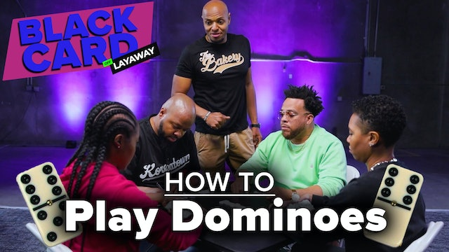 Black People Learn How To Play Dominoes