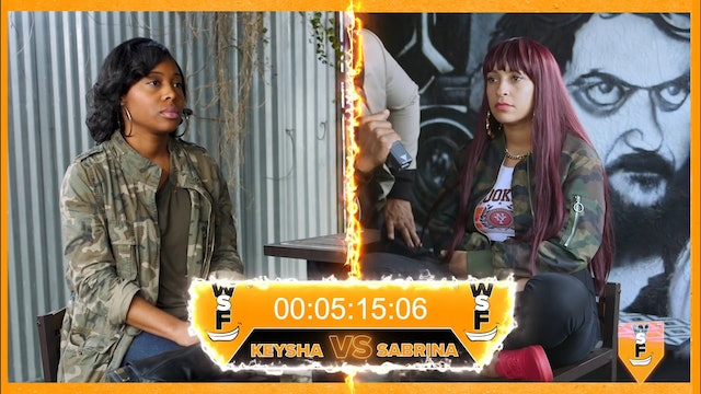 Who Smiled First FINAL! Sabrina Sith Vs Keysha E. (Guest Host D.C. Ervin)
