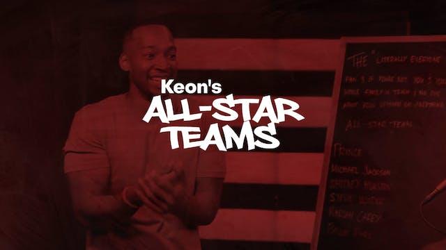 Keon's All Star Teams