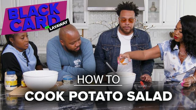 Black People Learn How To Make Potato...