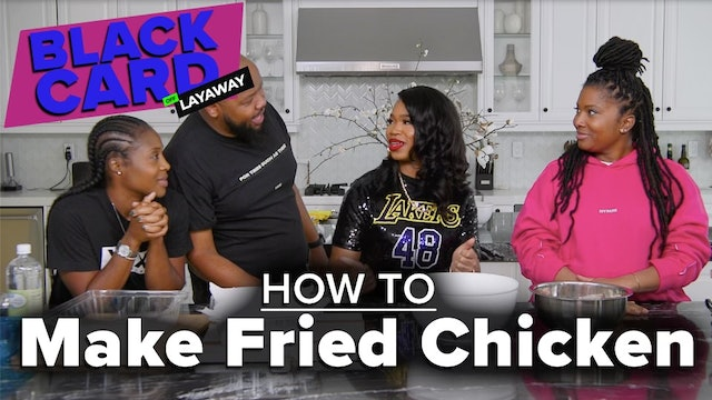 Black People Learn How To Make Fried Chicken