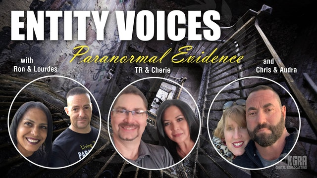 Matt and Amanda Harvey from Deep Woods Paranormal 05.31.21