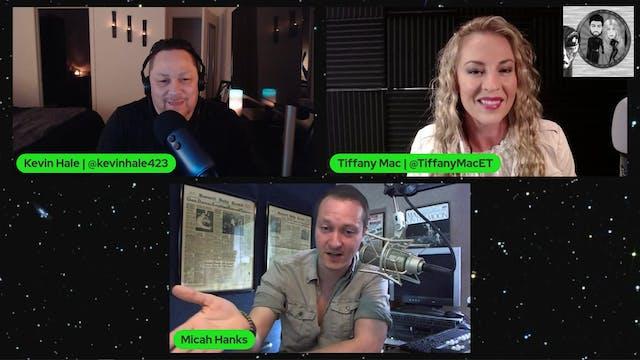 Micah Hanks - UFO UAP Author, Researc...