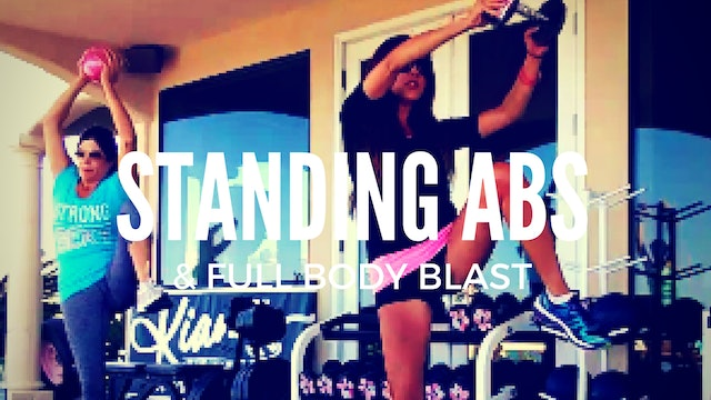 X LADIES WHO LUNGE AND STANDING ABS ROUTINE 35M