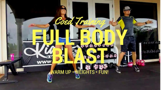 X COED TRAINING FULL BODY BLAST 10141...