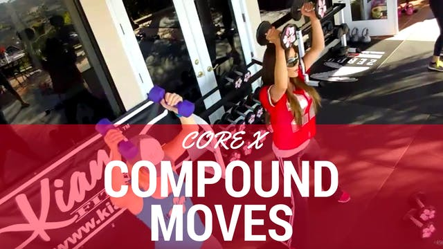 X FULL BODY COMPOUND CORE WORKOUT & A...