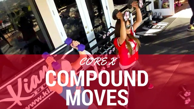 X FULL BODY COMPOUND CORE WORKOUT & AMRAP