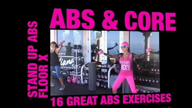 X TRAILER 16 AWESOME ABDOMINAL EXERCISES