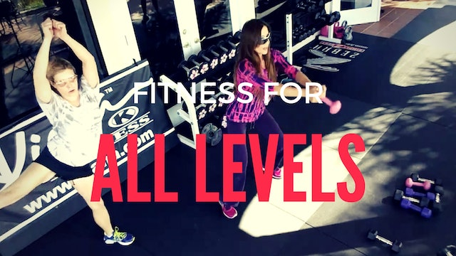 X FITNESS FOR ALL LEVELS 15 MIN WORKOUT