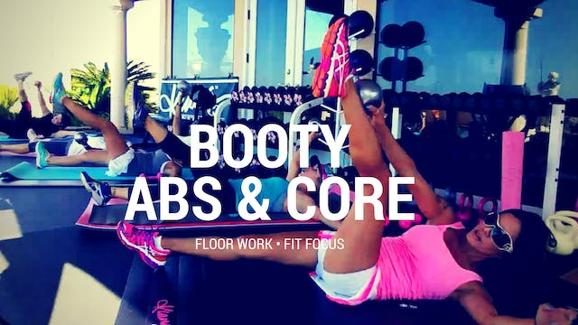X FIT FOCUS- ABS, BUTT & CORE 9M