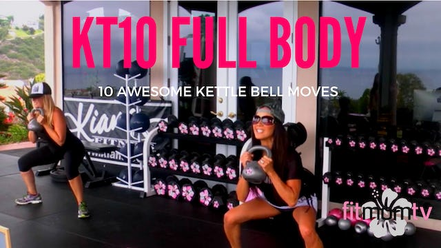X FULL BODY FLEX HIIT + 10 GREAT KETTLEBELL EXERCISES-30M
