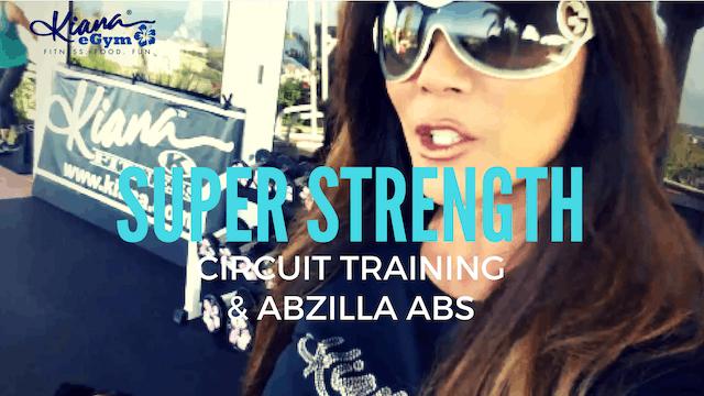 X SUPER STRENGTH X UPPER BODY & ABZILLA WTS BENCH OR MAT