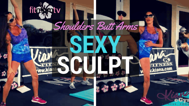 X SEXY SCULPT SHOULDERS BUTT ARMS LEGS 30M
