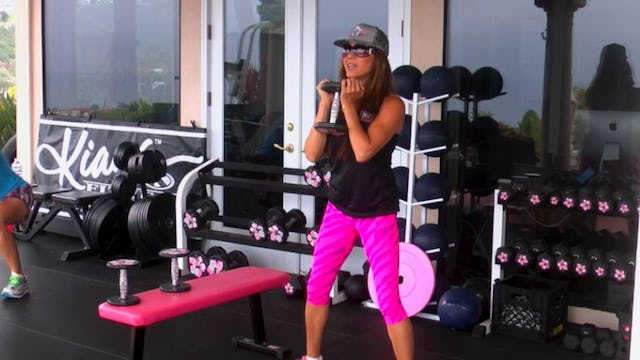 Memorial Day Full Body Strength Circuit & Abs Weights Only 35m-HDx