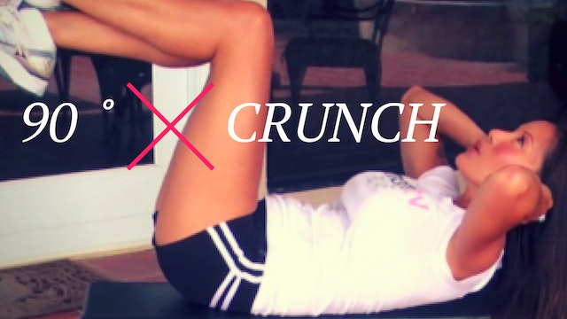 Exercise-90˚Crunch