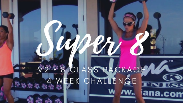 V2 | 8 CLASS PACKAGE | 4 WEEK CHALLENGE