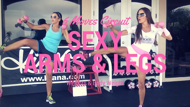X SEXY ARMS & LEGS CIRCUIT WEIGHTS 25M