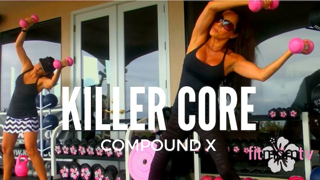 X KIANA'S KILLER CORE WORKOUT WEIGHTS...