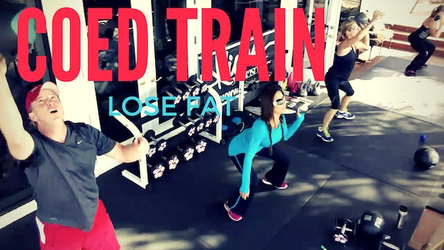 X COED TRAINING FULL BODY HIIT & MELT MY MIDSECTION ABS SLAM BALL WEIGHTS 45 M