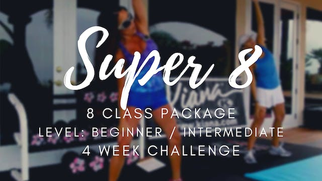 V1 | 8 CLASS PACKAGE | 4 WEEK CHALLENGE