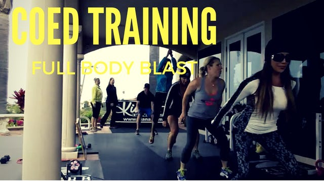 X COED TRAINING BOOT CAMP STYLE ABS & CORE