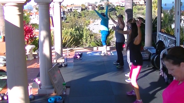 Thank you Kiana may I have another! Lol. Full Body Blast & abs Weights 35m-HDx