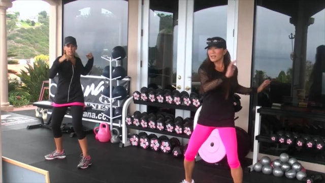 Twisted Sistah Total Body Workout & Floor Abs Weights Slamball 30m-HDx