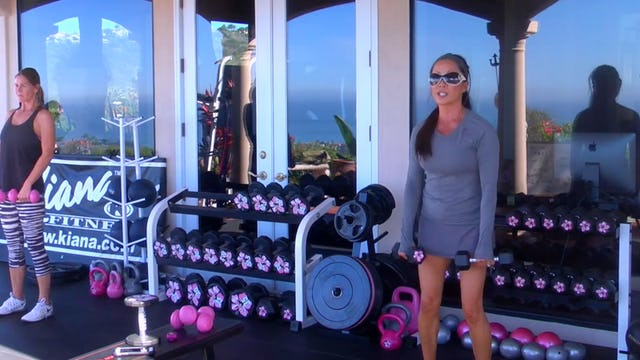 X HOTTIE 90 DEGREE WORKOUT 2X HIITS +ABS WEIGHTS, JROPE, PLATE 40M