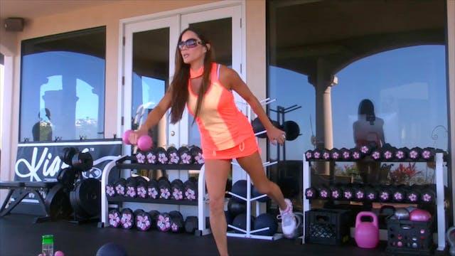 X SHES GOT LEGS! LOWER BODY BLAST + A...