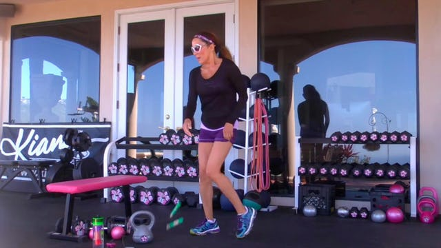 X NOT FOR WIMPS! 2 HIITS & KICK A** ABS! 45M